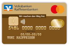 "Mastercard®, Motiv ""Gold"""